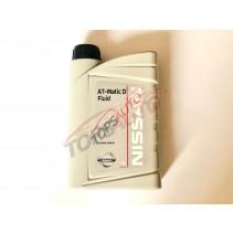 Масло для акпп 1л ( NISSAN AT, Matic D Fluid ) KE90899931
