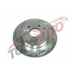 Диск тормозной задний ( перфорированный с насечками ) JBR1106XPR