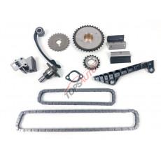 Комплект цепи ( ГРМ + шестерни, GA16DE, GA15DE, GA14DE ) TKNS143