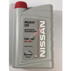 Масло моторное 1л ( NISSAN 5W40 ) KE90090032