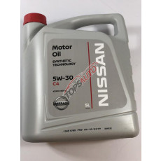 Масло моторное 5л DPF ( NISSAN 5W30 ) KE90090043